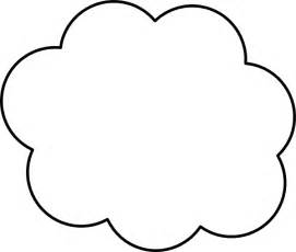 cloud template with lines cloud outline clip at clker vector clip