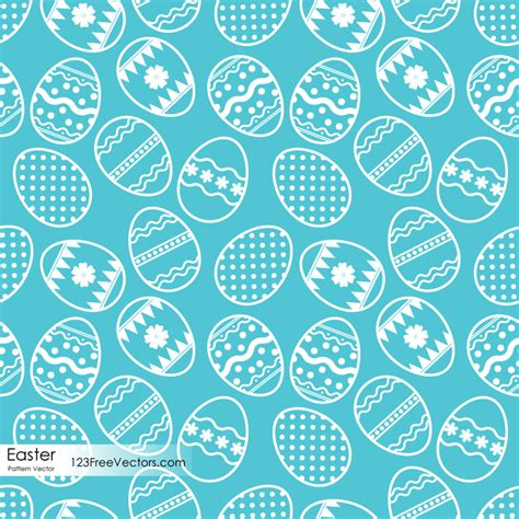 123 pattern v6 download easter egg pattern vector free download by 123freevectors