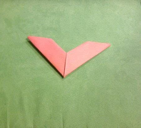 Boomerang Origami - how to make a paper boomerang dinzie