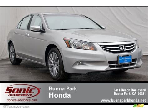 2012 alabaster silver metallic honda accord ex l v6 sedan 65970563 gtcarlot car color