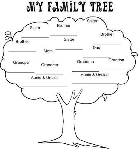 printable family tree images search results for printable blank family tree charts