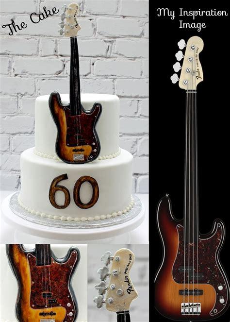 guitar cake cakes guitar pinterest bass guitars