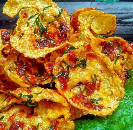 resep   membuat balado emping daun jeruk resep
