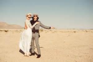 wedding inspired by fear and loathing in las vegas · rock