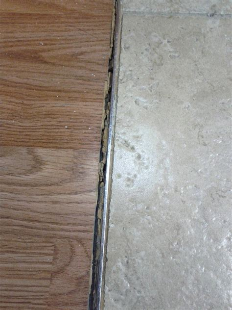tile to wood floor transition what should i use to transition from tiles to wood
