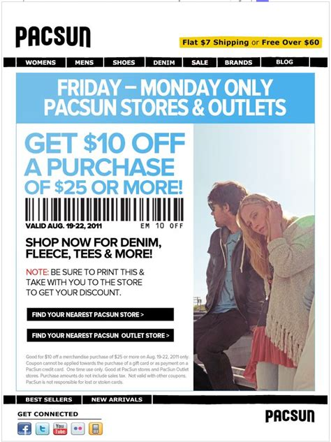 Pacsun E Gift Card - 25 off journeys coupons and promo codes october 2017 autos post