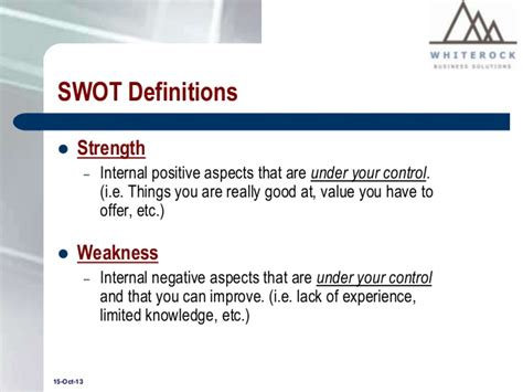 8 Swot Analysis Exle Personal 28 Images 8 Swot Sle Swot Analysis Ppt