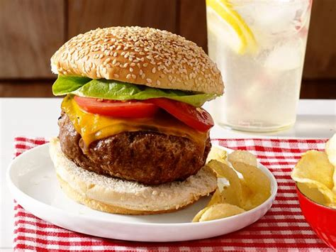 Beef Burger beef burgers recipe food network kitchen food