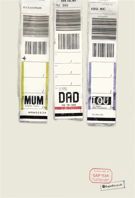 printable airport luggage tags we ve an early winner for best print ad caign of 2013