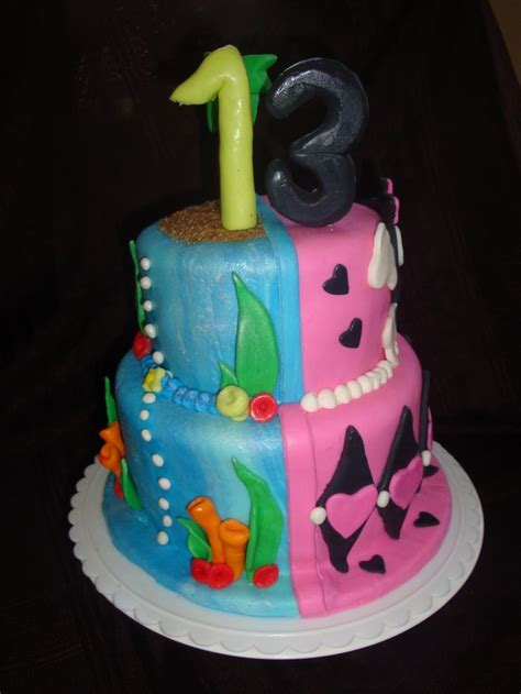 split cakes split personality or cake baby shower ideas