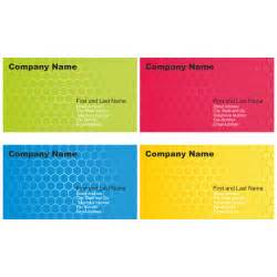 free business card design vector for free use set of business card designs