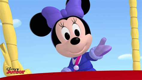 me for me music video virina disney junior youtube minnie s winter bow show come take a trip with me song