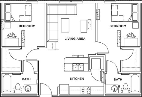 2 bedroom 2 bath apartment floor plans 2 bed 2 bath apartment wait list the callaway house