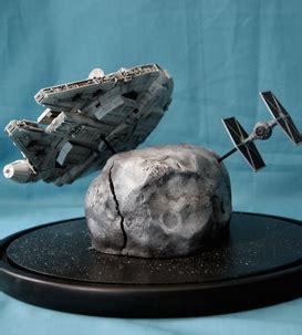 Cetakan Es Batu Model Wars Millennium Falcon starmodels sci fi models