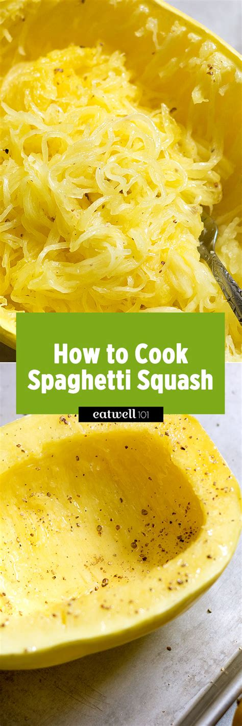 how to cook spaghetti squash in oven eatwell101