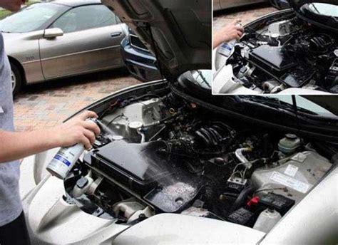 Cairan Pembersih Mesin Mobil Dan Motor hati hati menggunakan cairan pembersih mesin mobil