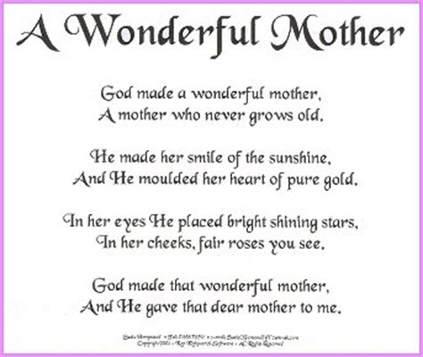 short biography about my mother happy birthday mom poems bing images quotes