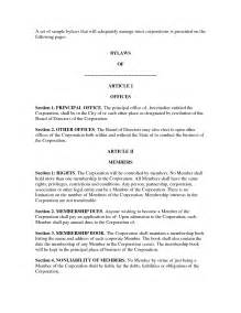 s corporation bylaws template best photos of s corporation bylaws template corporate