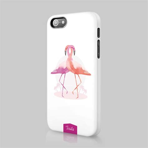 For Iphone 5 6 7 Buy 1 Get 1 tirita flamingo animal pink cover for iphone 4 5