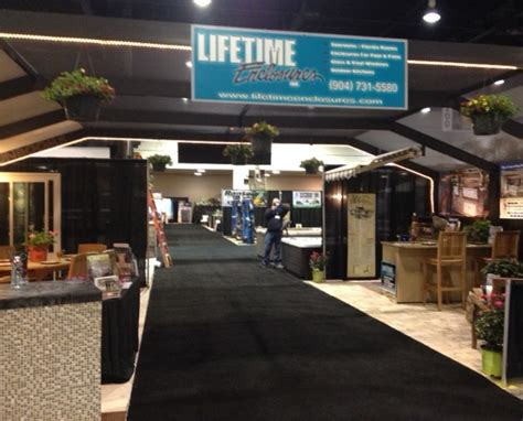 home and patio show jacksonville 2014 home patio show prime osborn jacksonville lifetime enclosures