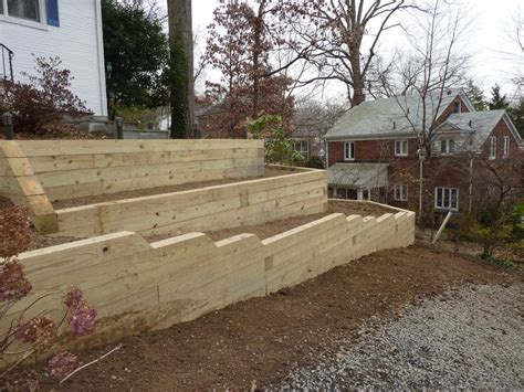 retaining walls border walls pillars american exteriors masonry