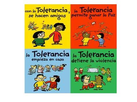 en favor de la tolerancia tolerancia