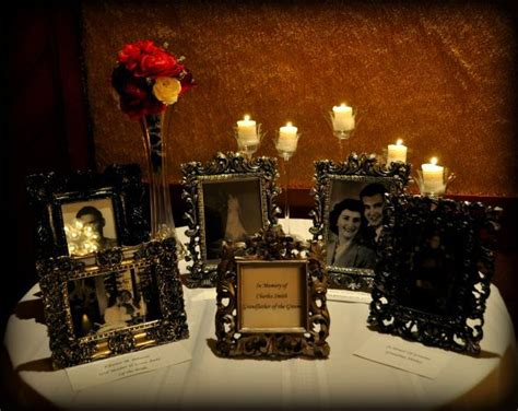 memorial table for funeral memorials at weddings card memorial table idea 1 i am