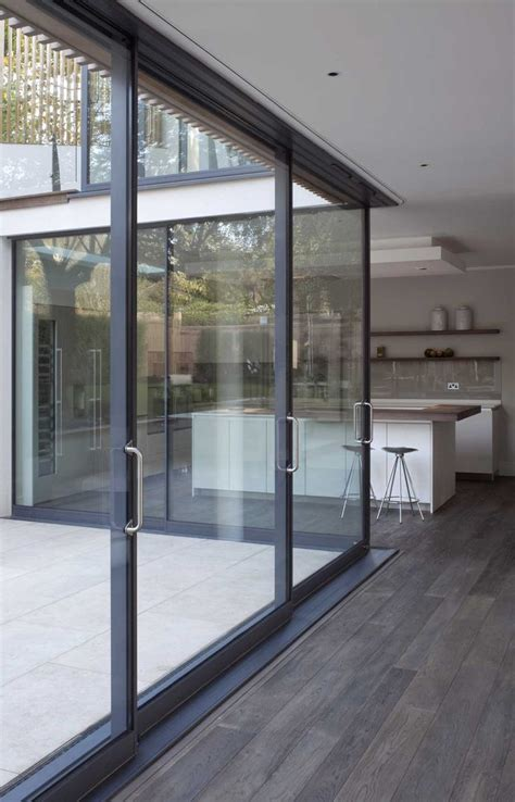 Large Sliding Glass Patio Doors Best 25 Aluminium Sliding Doors Ideas On