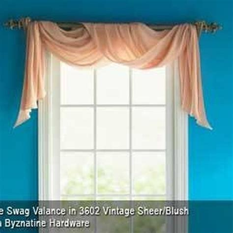 How To Hang Swag Valances 17 best ideas about window scarf on curtain