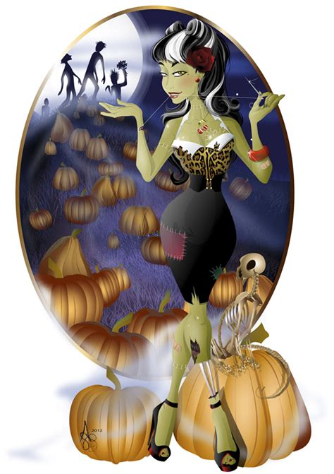 zombie tutorial illustrator create a rockabilly zombie girl with illustrator cs5