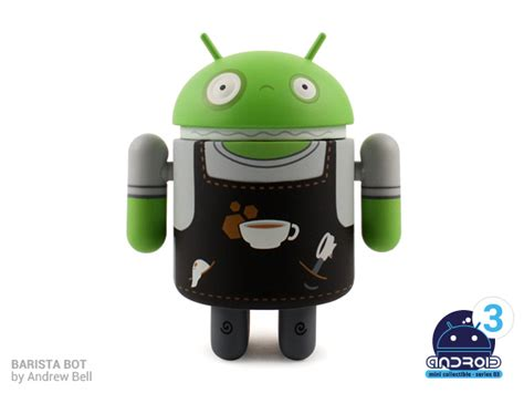 cafe android 2 new additions to android collectibles series 03 revealed say hello to barista bot and