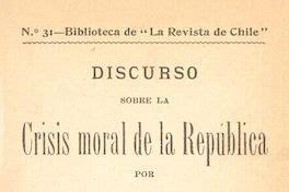 libro the moral landscape discurso sobre la crisis moral de la rep 250 blica memoria