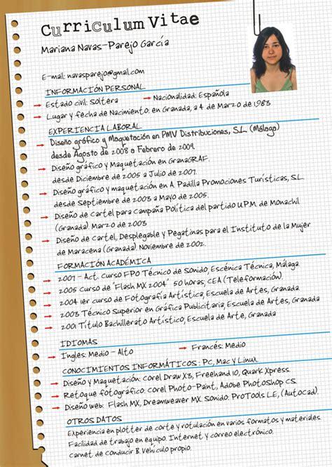 Plantillas De Curriculum Para Jovenes Curriculum Mariana Web