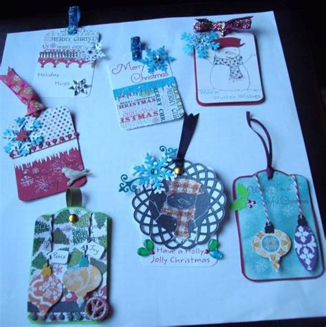christmas gift tags fb handmade gifts board pinterest