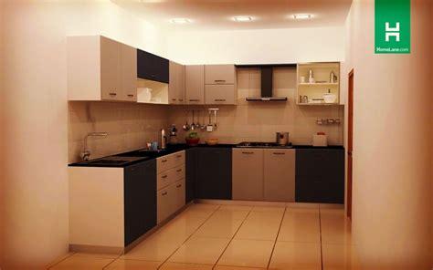 buy heron large  shaped kitchen  homelane india