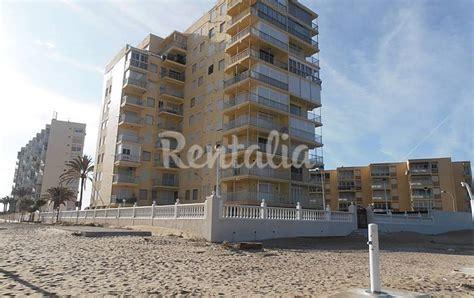 appartamenti valencia sul mare appartamento in affitto fronte mare el perellonet