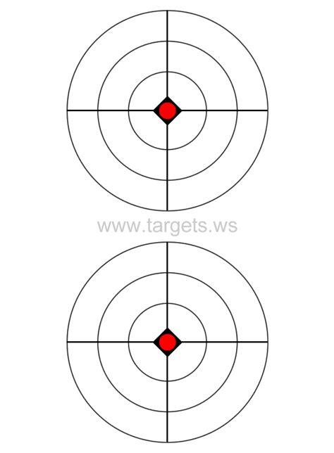printable shooting targets bullseye the gallery for gt shooting targets to print out
