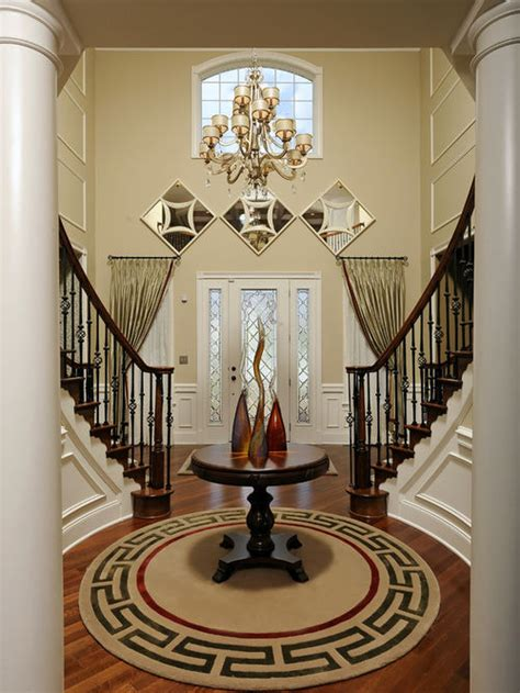 foyer decor rotunda foyer home design ideas pictures remodel and decor