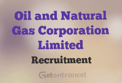 Hindustan Petroleum Corporation Limited Recruitment 2015 For Mba by Ongc Recruitment 2016 Ongc 2016 17 Getentrance