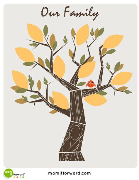 free printable family tree designs family tree printable mom it forwardmom it forward