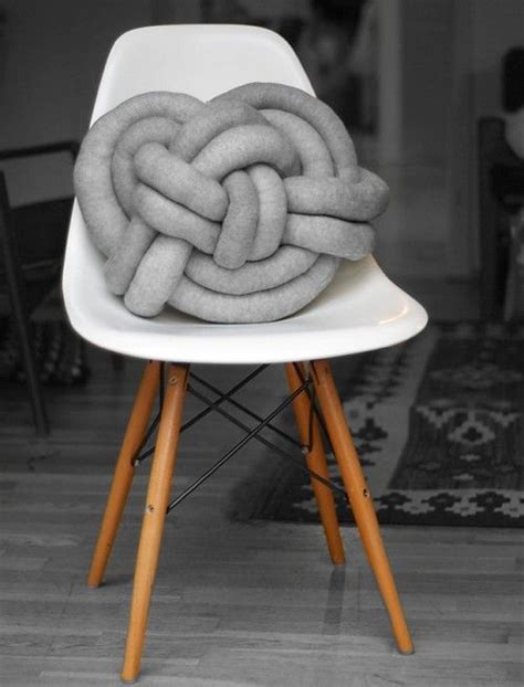 diy tubular machine knitting and a knot pillow 17 best images about 2sit 2lie furniture on pinterest
