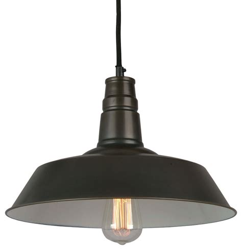 Industrial Pendant Light Bromi Design Calvin 1 Light Industrial Pendant Modern Pendant Lighting