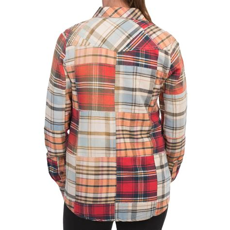 Patchwork Flannel - gramicci dolly patchwork flannel shirt for save 90