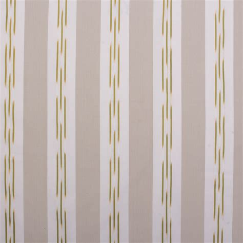 Lightweight Fabric For Curtains Woven Vertical Stripe Pattern Lightweight Olive Green Curtain Fabric Upholstery Ebay