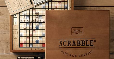 restoration hardware scrabble board i scrabble this vintage edition from