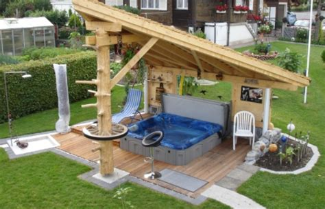 backyard hot tub landscaping backyard landscape hot tub pdf