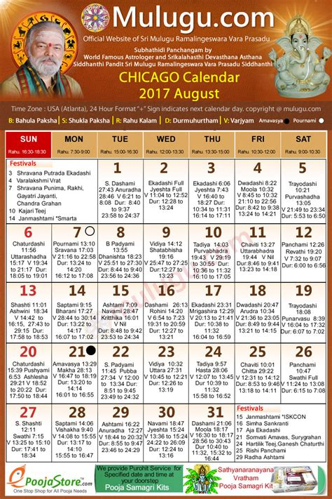 Chicago Telugu Calendar Chicago Telugu Calendar 2017 August Mulugu Calendars