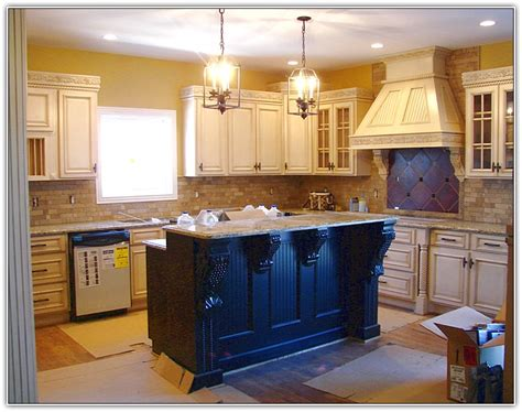 Antique White Cabinets With White Appliances by Kitchen Cabinets With White Appliances Home Design Ideas