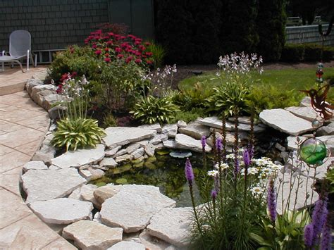 bring depth to your garden by the addition of pond