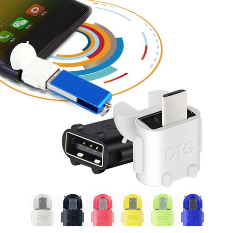Otg Android Robot Usb On The Go For Smartphone Tab android robot shape otg adapter micro usb to usb 2 0